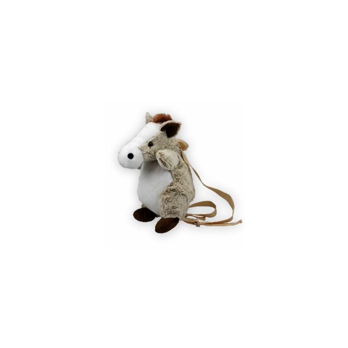 Kinderrucksack Tier-Rucksack Kindertasche im süßen Design Pferd