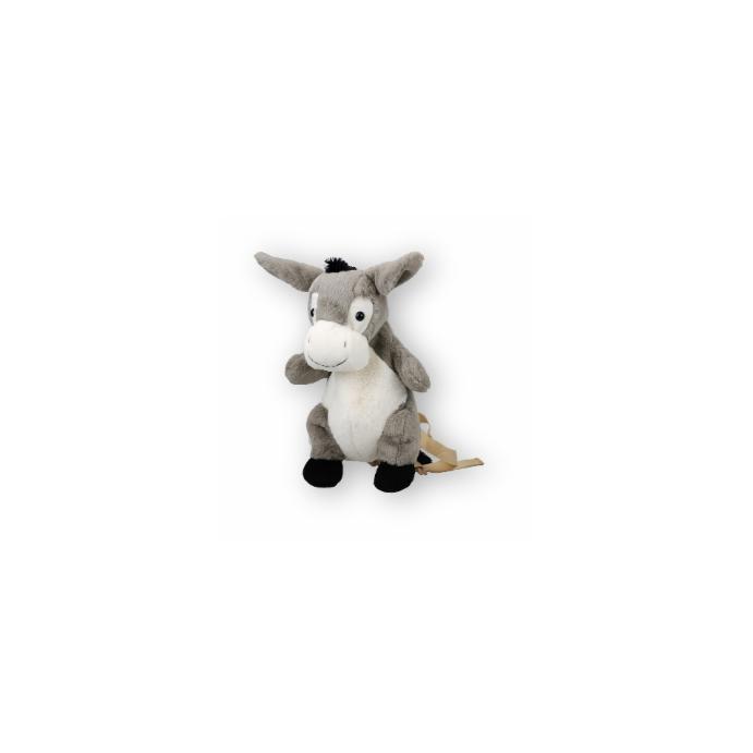 Kinderrucksack Tier-Rucksack Kindertasche im süßen Design Esel