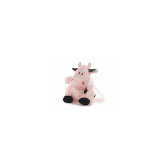 Kinderrucksack Tier-Rucksack Kindertasche im süßen Design Kuh weiß