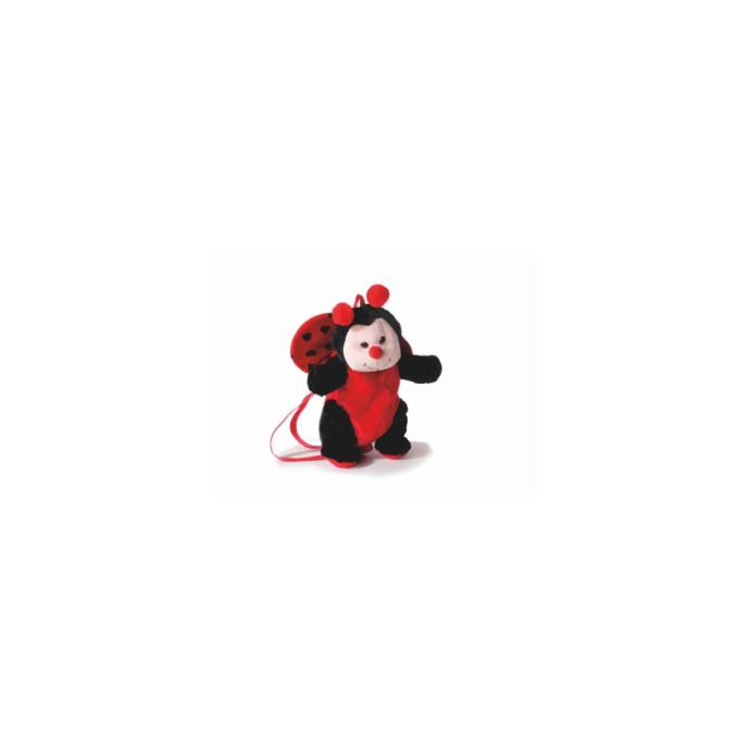 Kinderrucksack Tier-Rucksack Kindertasche im Marienkäfer Design