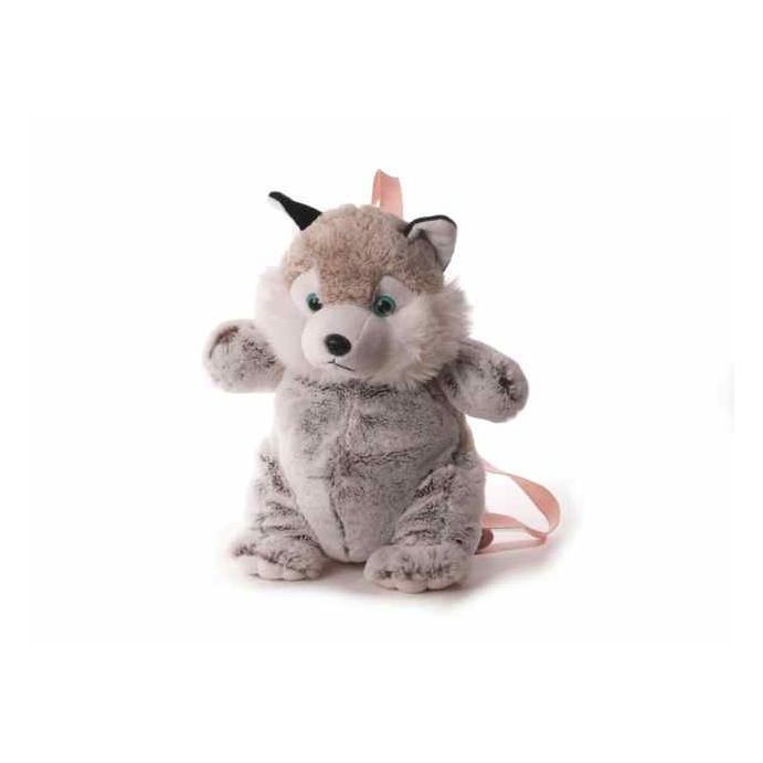Kinderrucksack Tier-Rucksack Kindertasche im süßen Design Husky