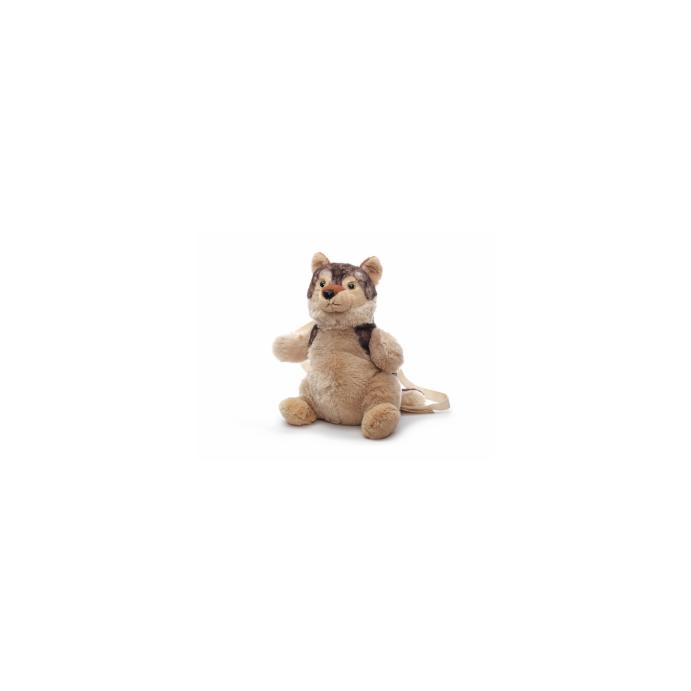 Kinderrucksack Tier-Rucksack Kindertasche im süßen Design Wolf