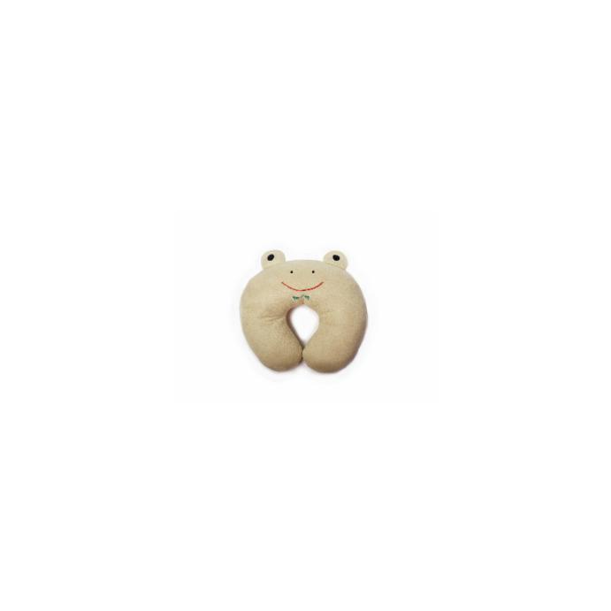 Nackenkissen Nackenhörnchen im süßen Design für Kinder Frosch