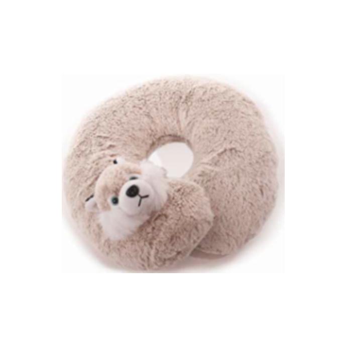Nackenkissen Nackenhörnchen  im süßen Design für Kinder Husky