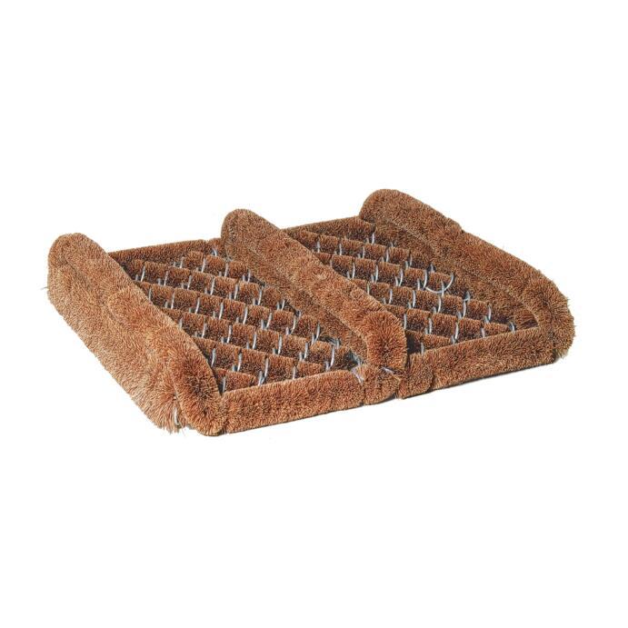 Redecker Fußabstreifer Fußabtreter aus Kokosfasern mit Seitenleisten