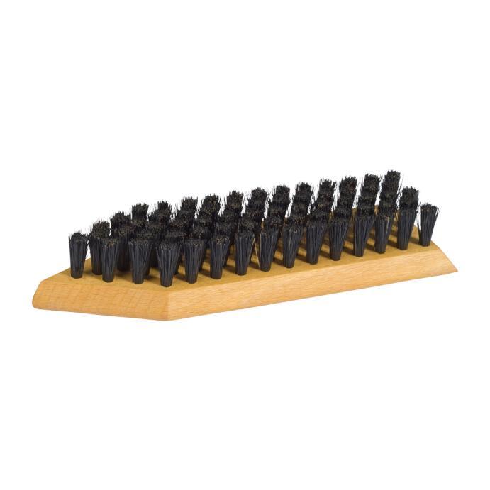 Redecker hochwertige Schuhschmutzbürste Luxus aus Buchenholz 20 cm
