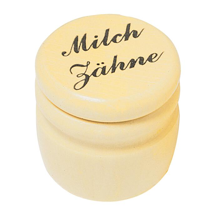 Redecker Milchzahndose Zahndose Sammeldose Milchzähne Zahnbox Holz
