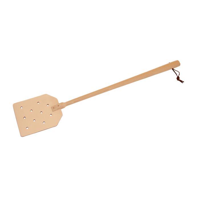 Redecker Fliegenklatsche Leder Holz sehr robust