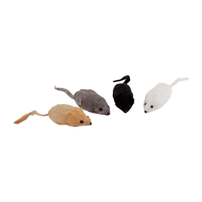 Redecker Katzenspielzeug Maus mit Kanninchenfell