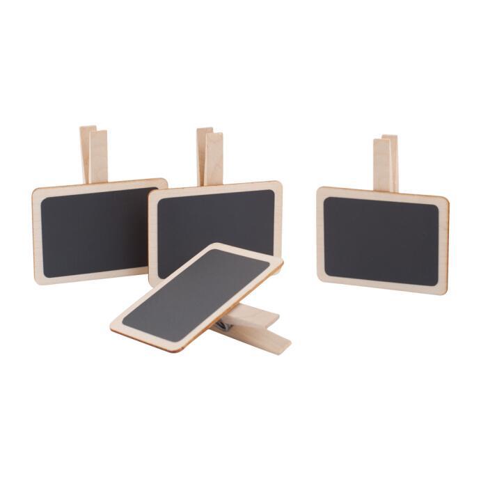 Redecker Holztäfelchen 4er Set