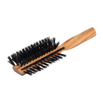 Redecker Haarbürste Stirneinzug halbrund