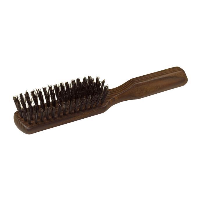 Redecker Haar-Bürste geöltes Thermoholz länglich Wildschweinborste