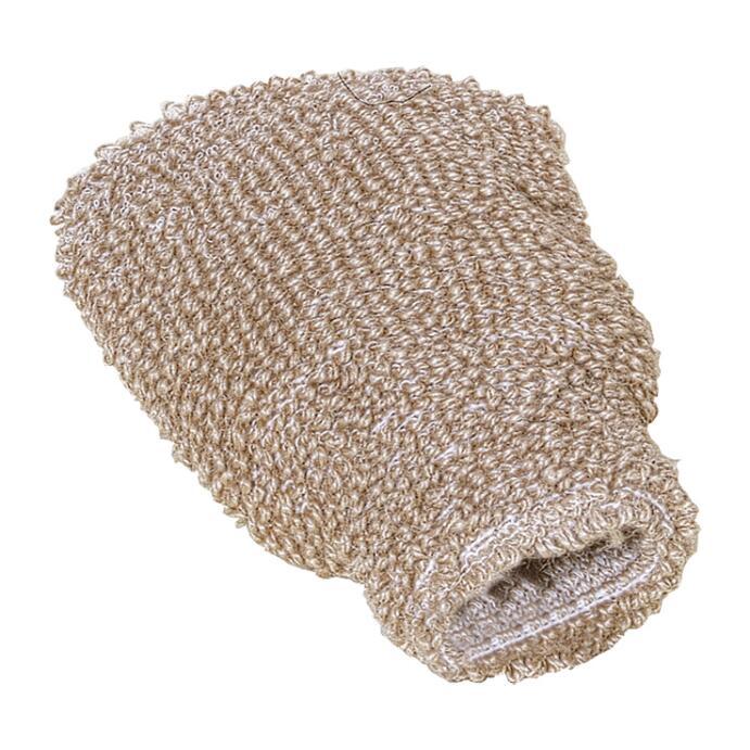 Redecker Massagehandschuh mit Flachs Baumwolle
