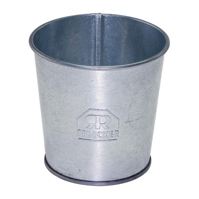 Redecker Zahnputzbecher Becher Metall verzinkt