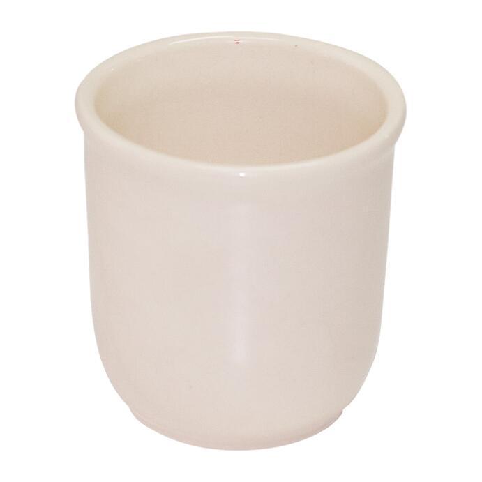 Bunzlauer Keramik Zahnputzbecher beige uni