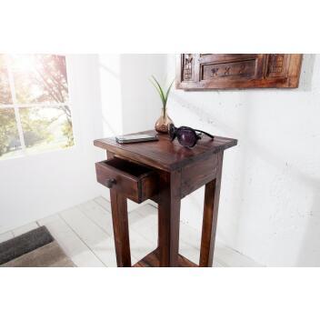 Telefontisch Hemingway antik braun/ 36632