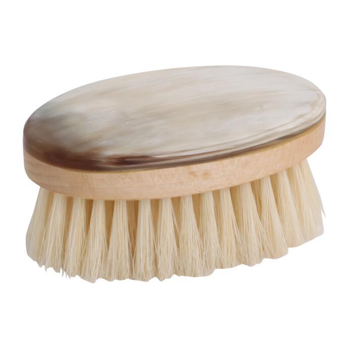 Redecker Gesichtsbürste oval Horn Buche