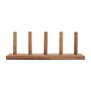 Redecker Holz-Ständer für 5 Rollen Flachsgarn