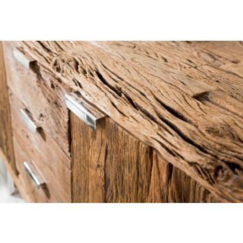 Sideboard Kommode EUPHORIA BARRACUDA Massivholz Lowboard Fernsehschrank
