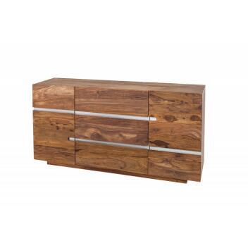 Sideboard Sheesham kommode FIRE&EARTH Lowboard TV-Board TV-Tisch Schrank