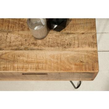 Couchtisch Wohnzimmertisch Fernsehtisch Scorpion 100cm aus Mangoholz Tisch