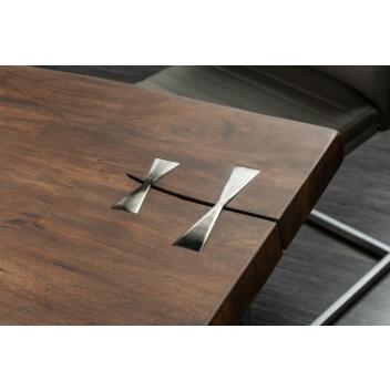 Esstisch Holztisch Küchentisch Mammut Artwork 240cm aus Akazienholz mit 60mm