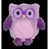 Warmies® Wärme-Stofftier Wärmekissen Pop Eule lila Hirsekorn-Lavendel-Füllung