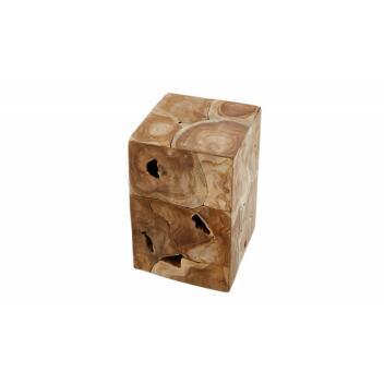Beistelltisch Square 30cm Teak natur Massivholz...